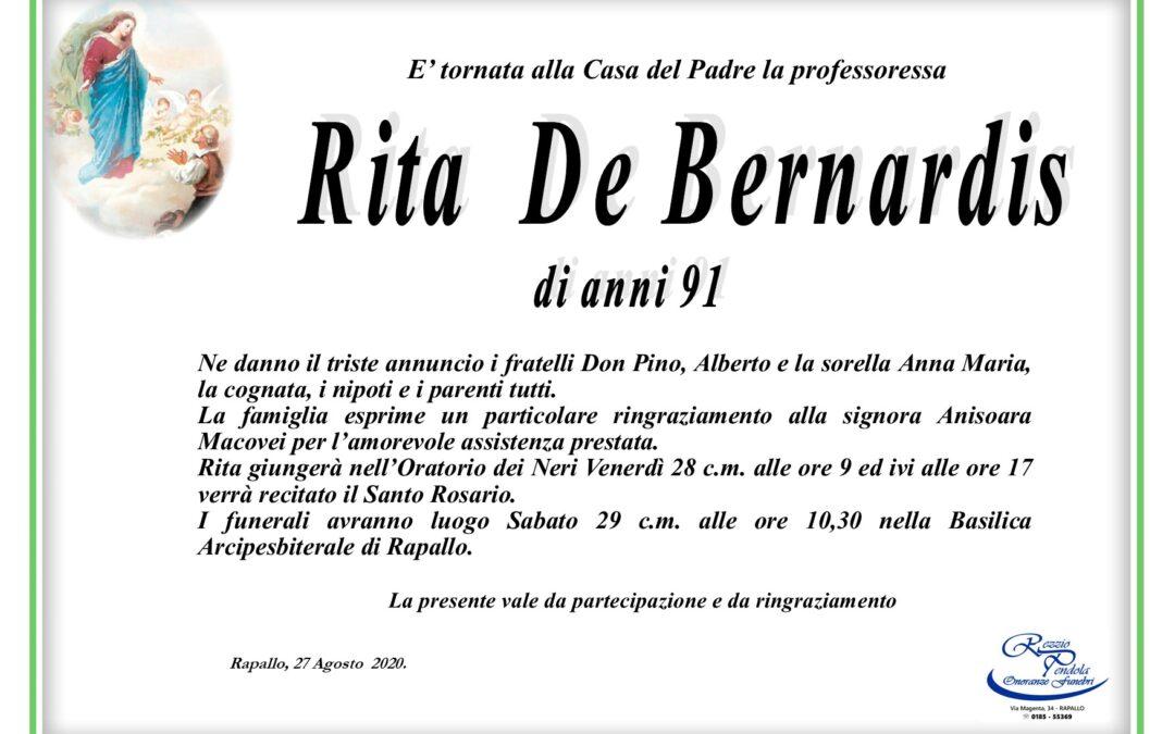 De Bernardis Rita